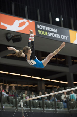 Naomi Visser opgenomen in E.Y.O.F. traject (European Youth Olympic Festival)